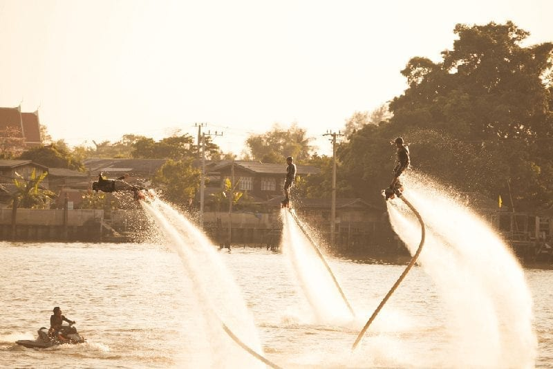 Flyboard Action