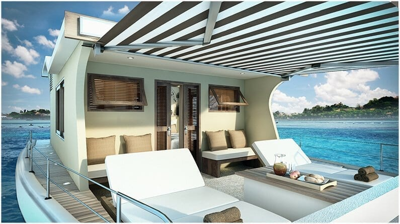 Front Deck Boat