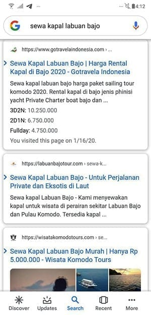 Google-mobile-search-sewa-kapal-bajo